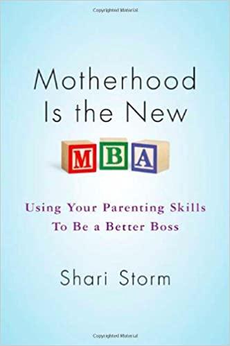 Motherhood is the New MBA